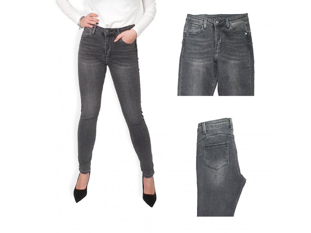 Skinny džíny s push up efektem