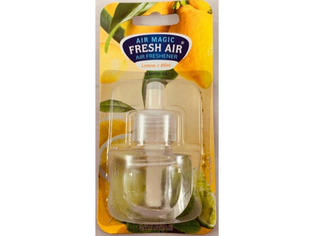 Fresh Air Electric náplň 19ml - Citron & Máta