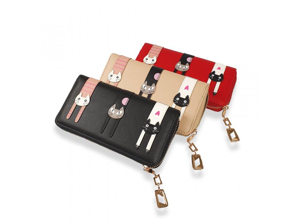 Dámská peněženka Cats