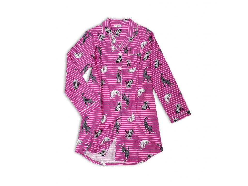 Dámská flanelová košile Cats