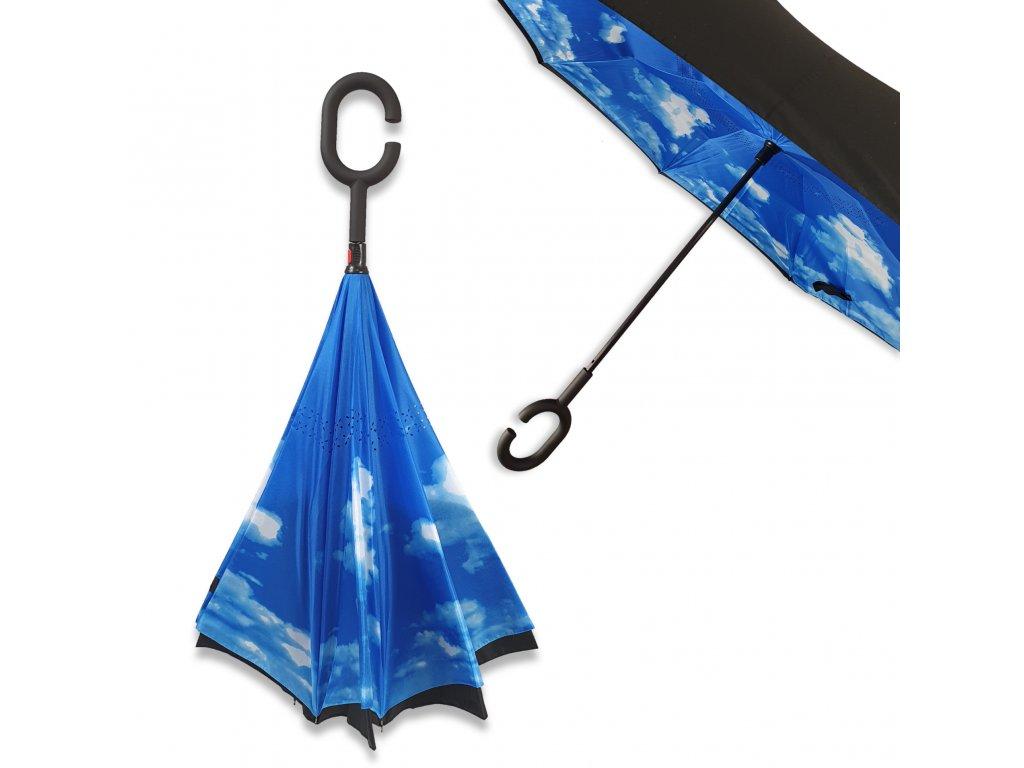 Obrácený deštník Nebe