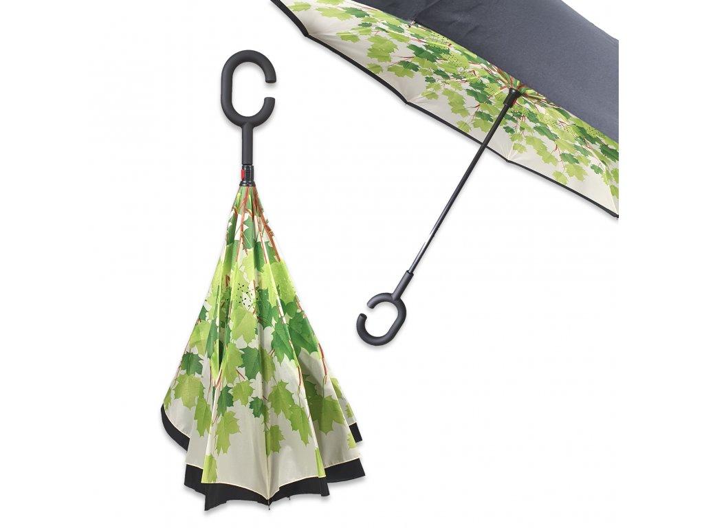 Obrácený deštník List