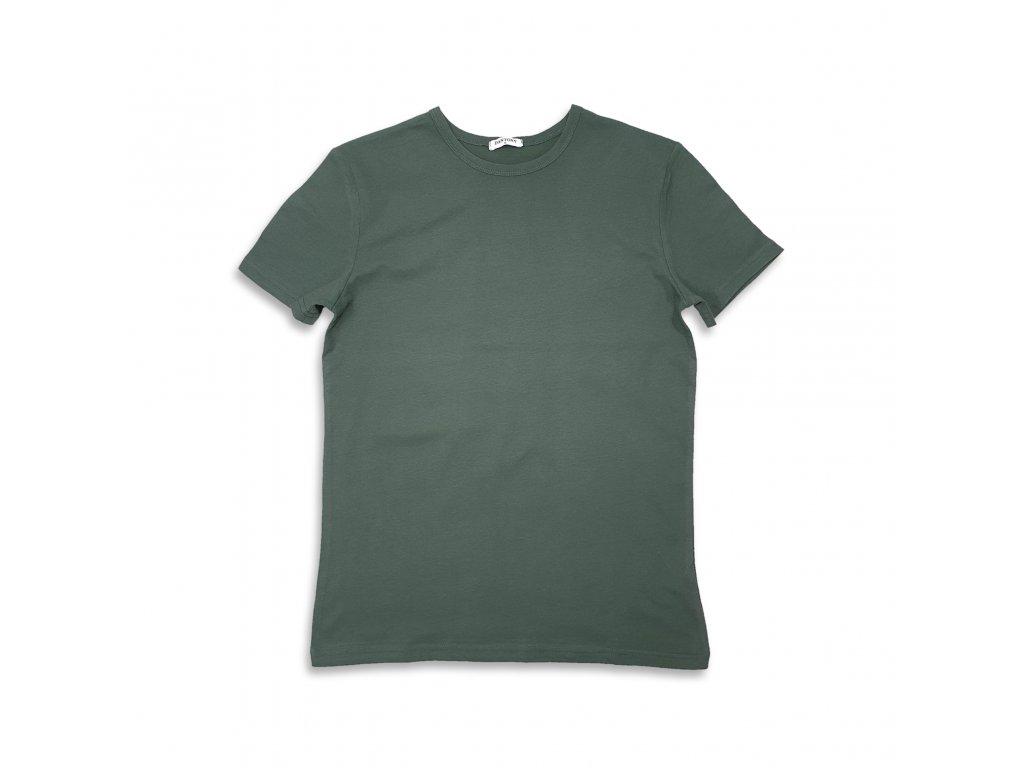 Unisex tričko tmavě zelené