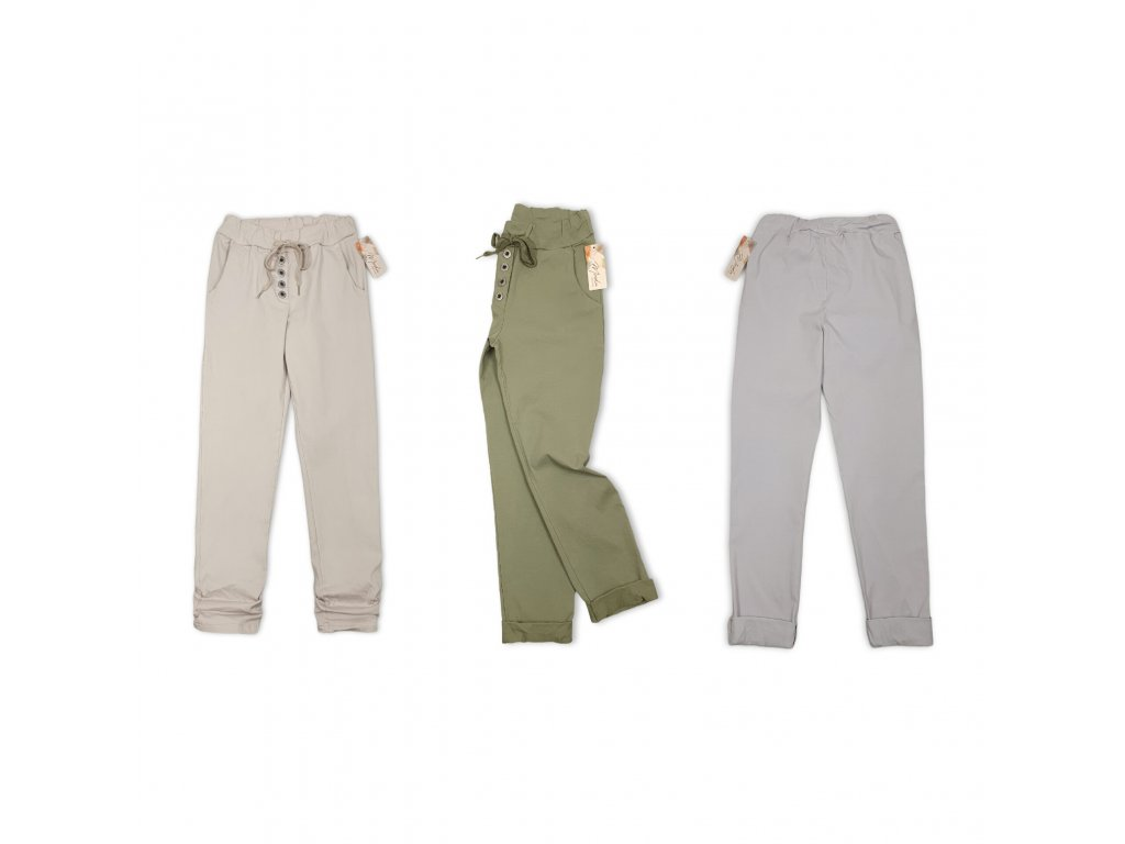 Dámské elastické kalhoty IT
