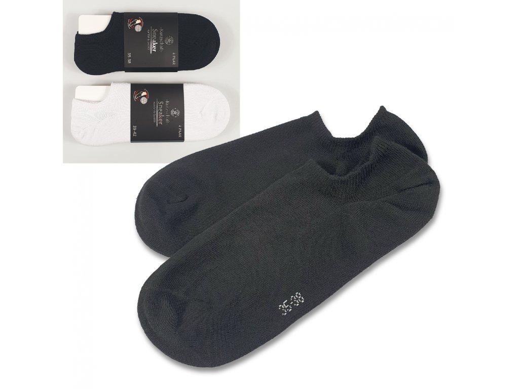 Nízké ponožky BASIC (4 páry)