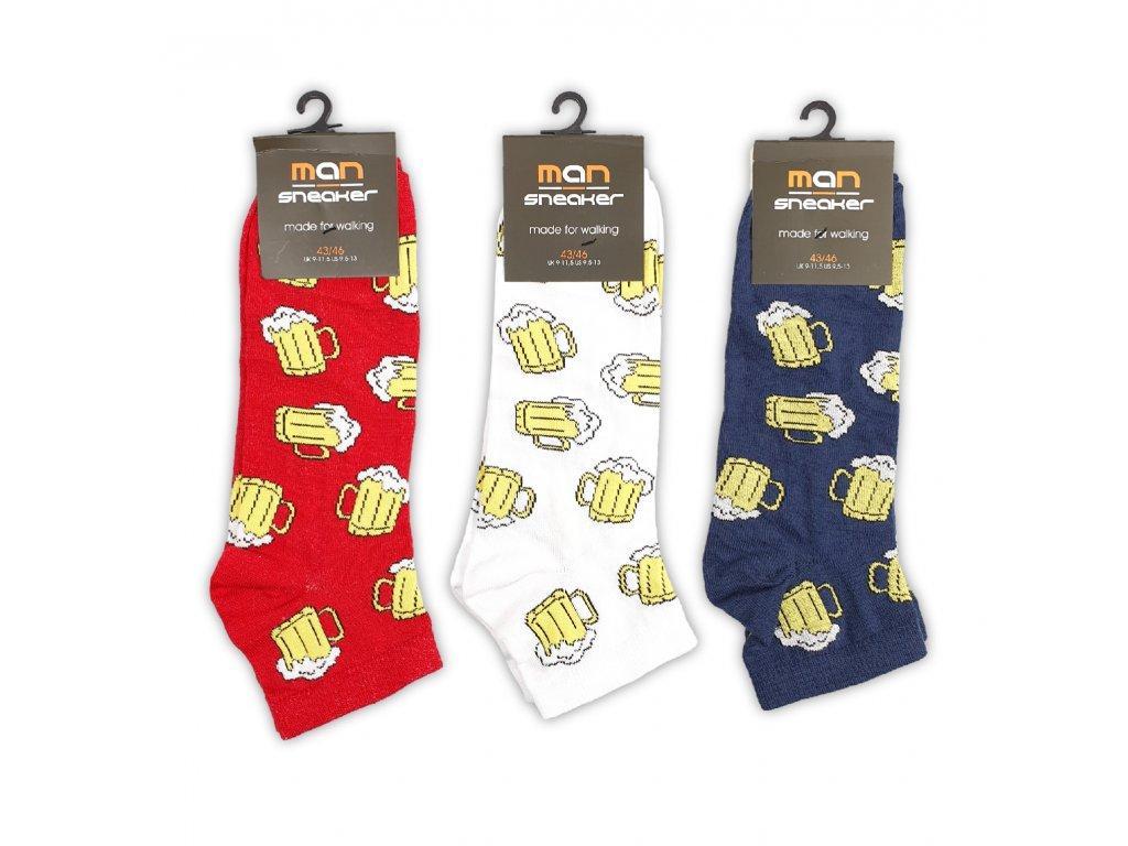 Pánské kotníkové ponožky PIVO