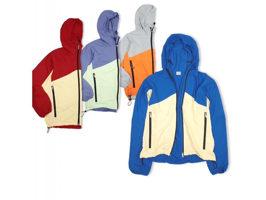 Lehká bunda bez podšívky Unisex