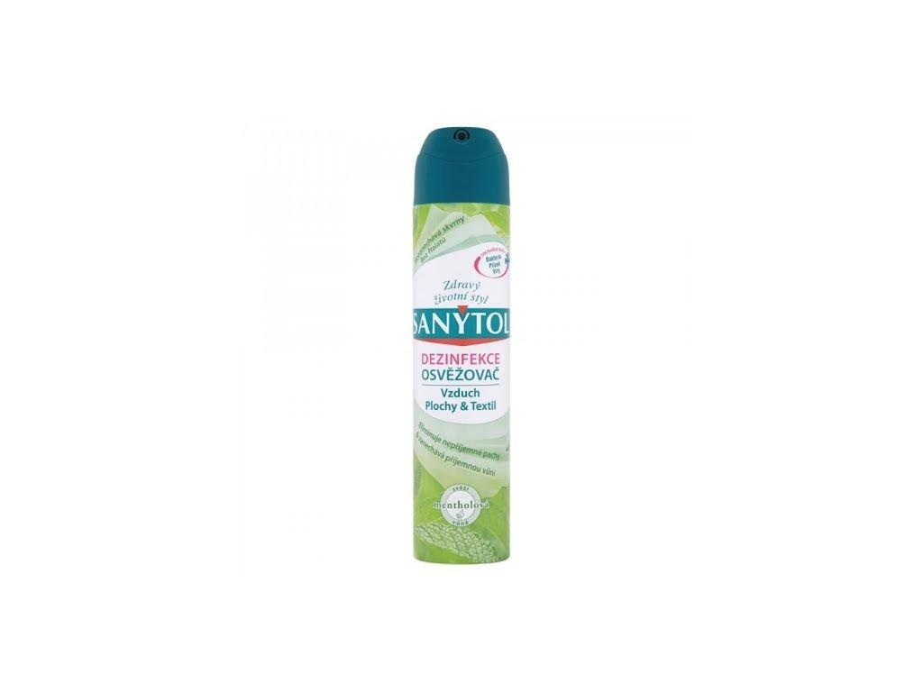 sanytol dezinfekce osvezovac vzduchu mentolova 300ml l