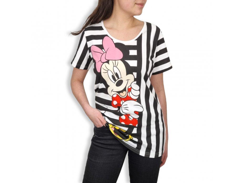 Dámské tričko Minnie Mouse