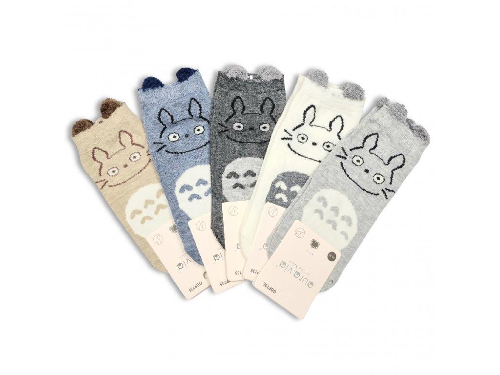 Dětské ponožky AURA zajíček (5 párů)