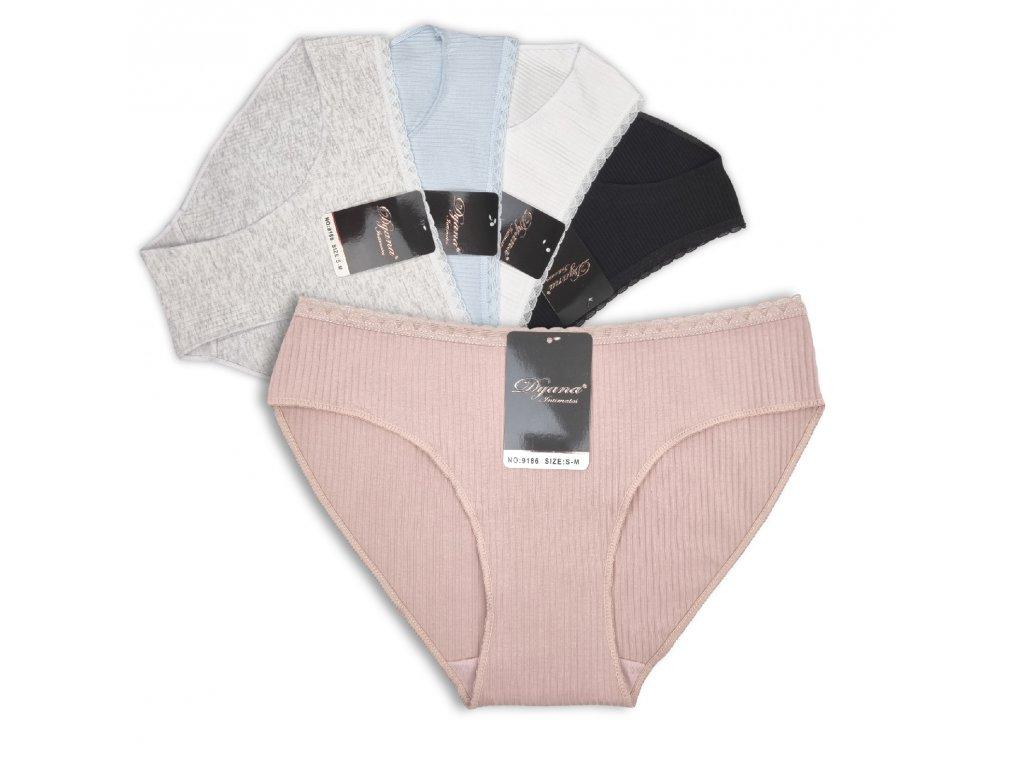 Dámské kalhotky Dyana s krajkovým lemem