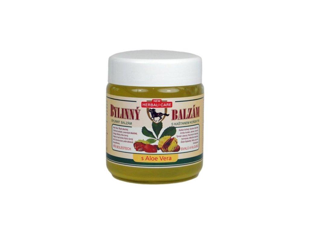 Bylinný balzám s Aloe vera 500ml e1575923599206