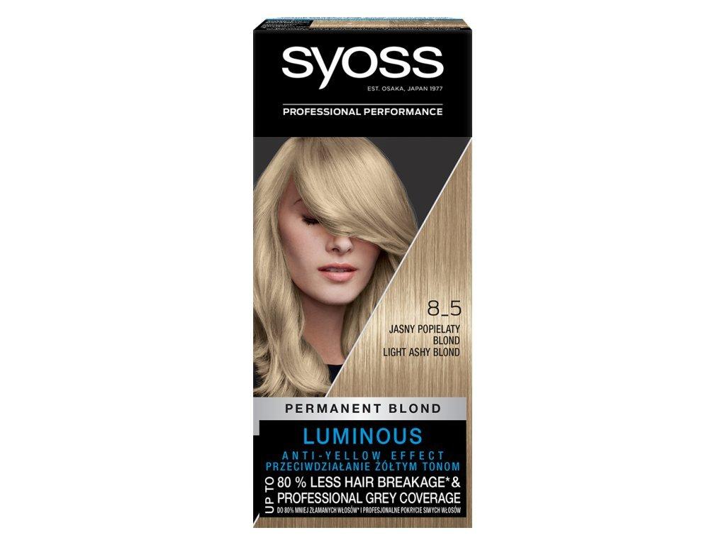 15726 syoss barva na vlasy 8 5 svetly popelave plavy 50 ml