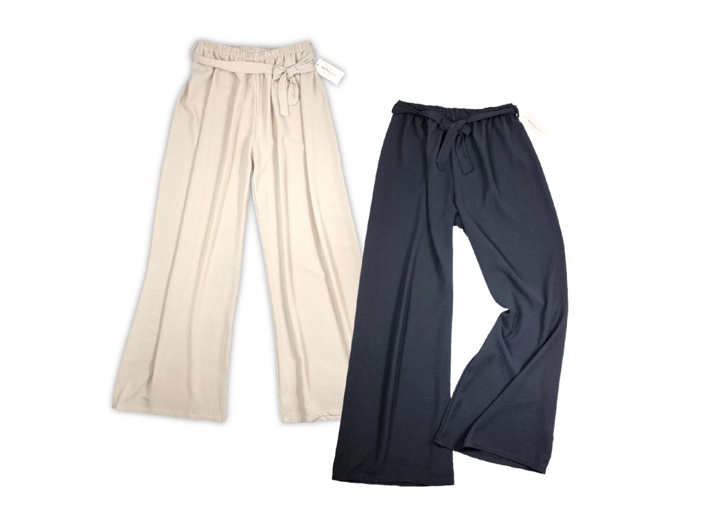 Kalhoty s širokými nohavicemi