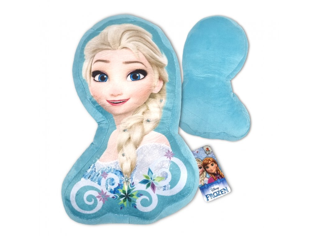 Plyšový polštářek Elsa Frozen