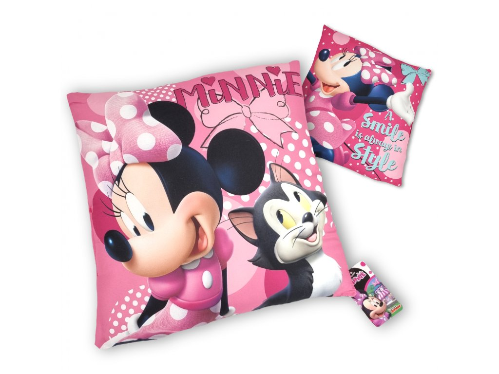 Polštářek Minnie Style