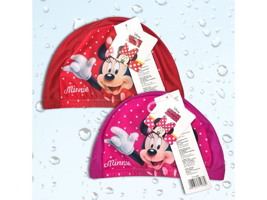 Dívčí plavecká čepice Minnie Mouse