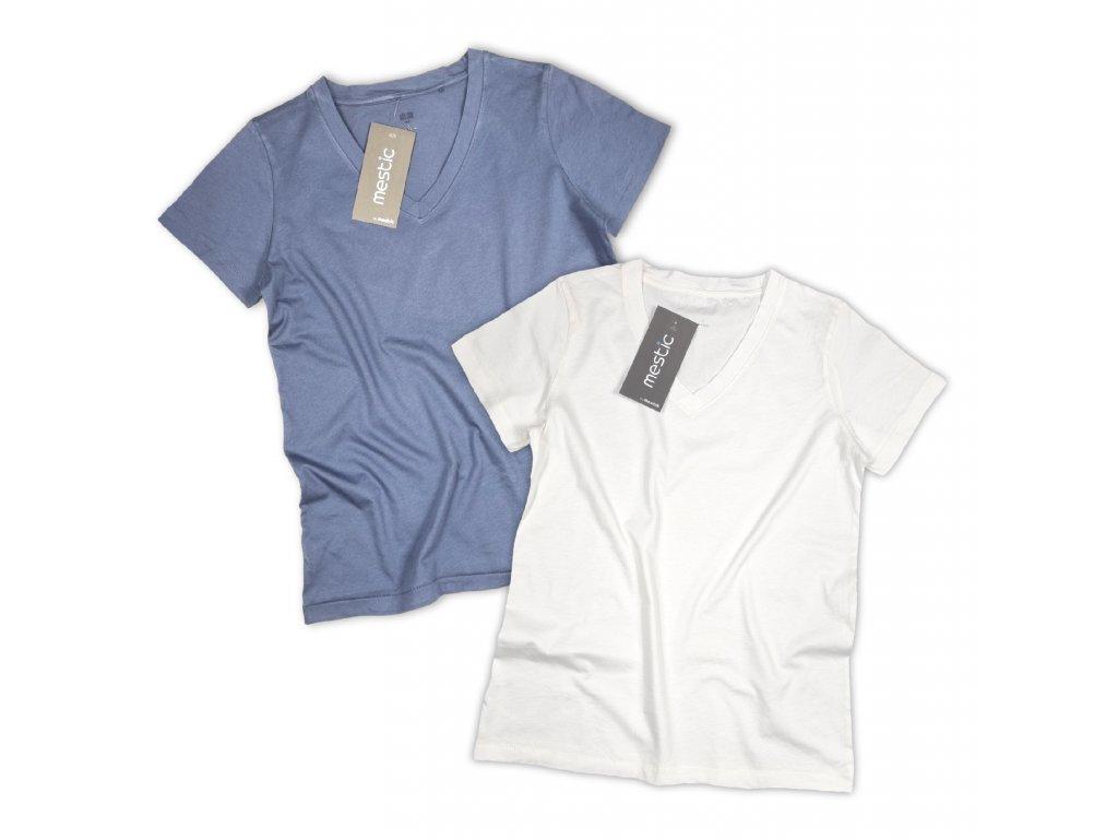 Tričko s véčkovým výstřihem