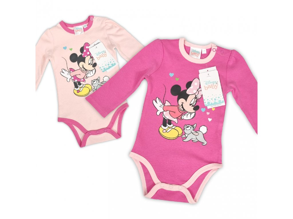 Dívčí body Minnie Mouse