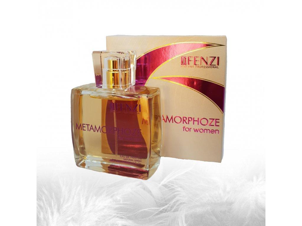 JFENZI Metamorphoze for Woman Dámská parfémovaná voda květinová vůně EDP 100ml