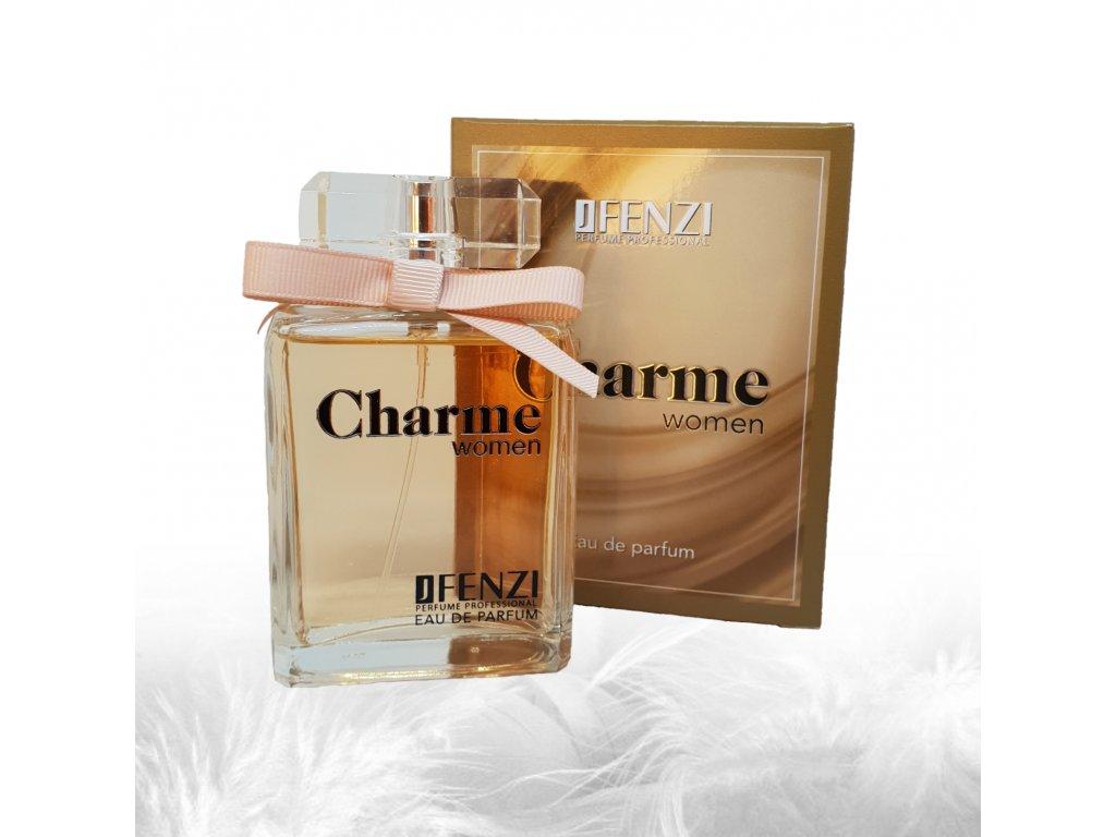JFENZI Charme WOMEN FREEZIA & LYCHEE Dámská svěží květinová dámská parfémová voda 100ml