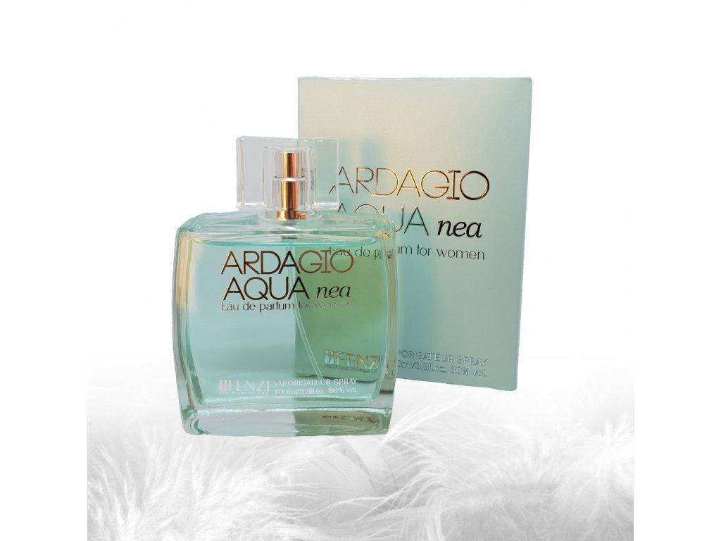 JFENZI Ardagio AQUA NEA LEMON & MINT Dámská svěží citrusová parfémová voda 100ml
