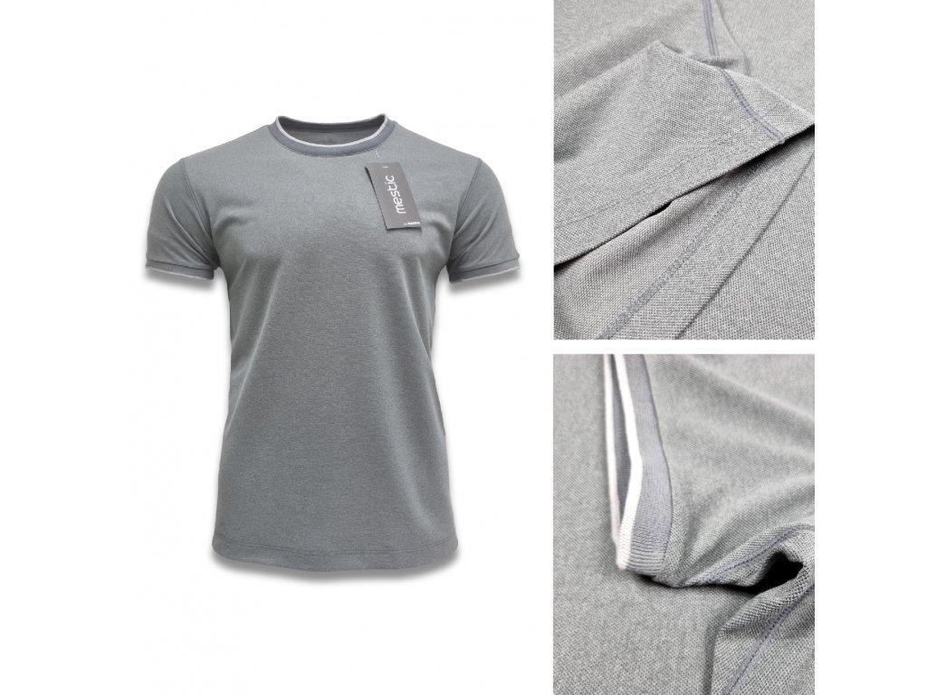 Pánské tričko šedé