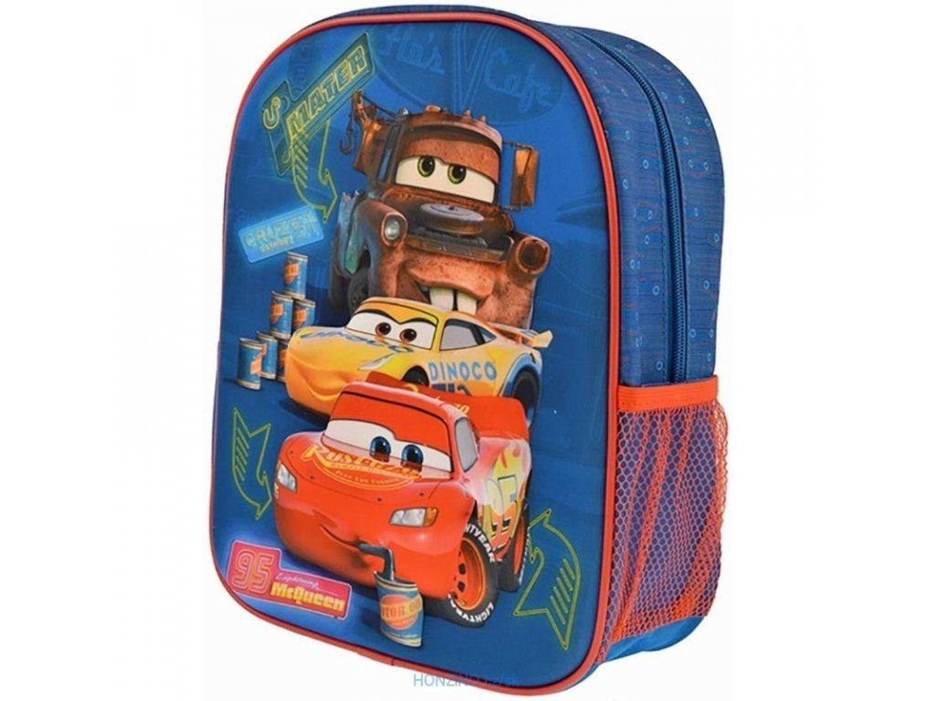 detsky 3d plasticky batoh auta cars