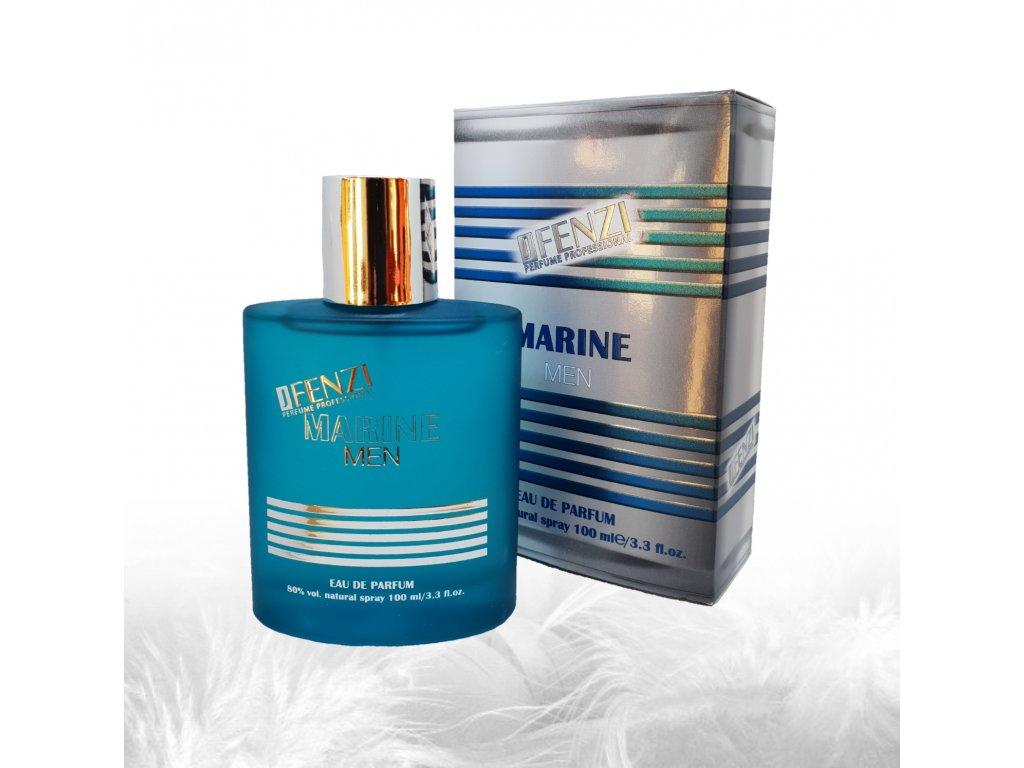 JFENZI Marine MEN ORANGE BLOSSOM & CINNAMON Pánská sladká parfémová voda 100ml