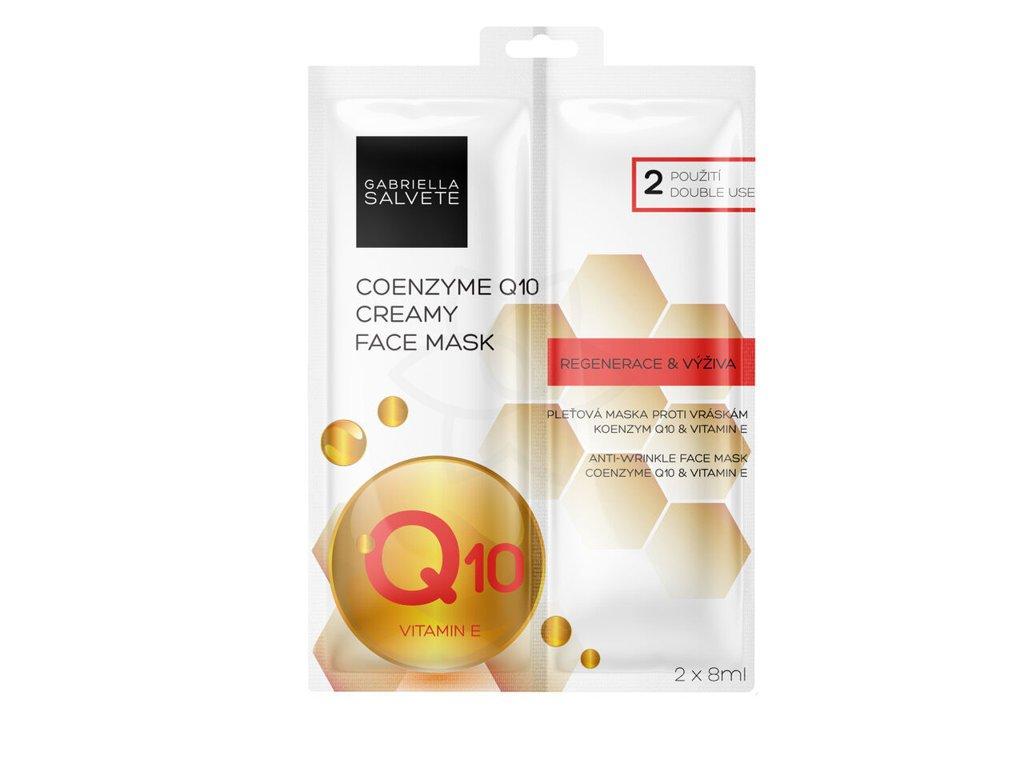 Gabriella Salvete Creamy Face Mask Coenzyme Q10 pleťová maska proti vráskám