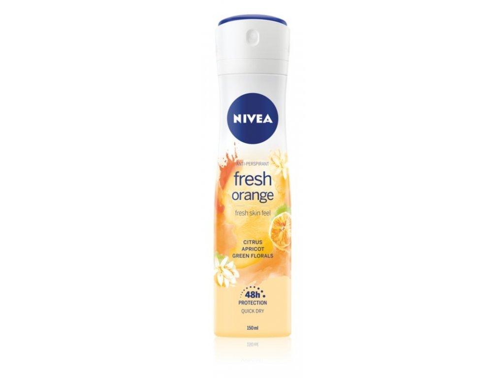 nivea fresh orange damsky antiperspirant 150 ml l