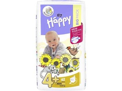 Bella Baby Happy Maxi Plus Big Pack 9-20kg 62ks