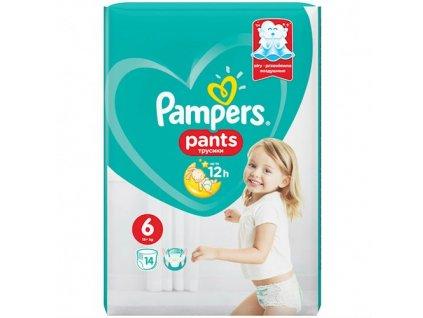 Pampers kalhotkové plenky  S6 14ks