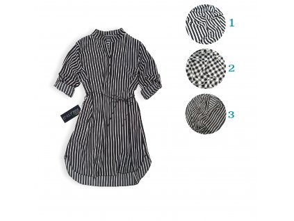 Dámské šaty ITALY B&W