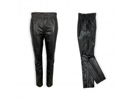 Dívčí koženkové kalhoty