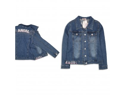 Dívčí riflová bunda Angel