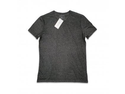 Unisex tričko tmavě šedé