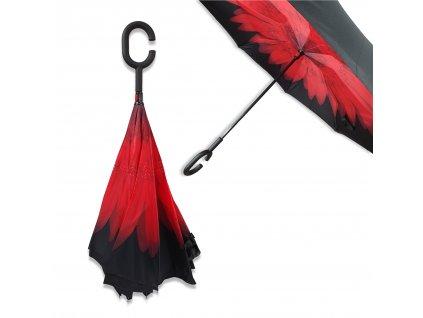 Obrácený deštník Květ