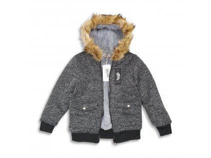 Chlapecká bunda s kožíškem Sezon