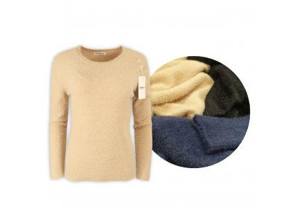 Dámský elastický svetr Ebelieve