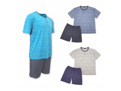 Pánské pyžamo krátké N-FEEL