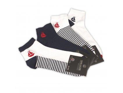 Pánské kotníkové ponožky SNEAKER (4 páry)