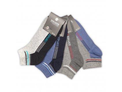 Pánské kotníkové ponožky DWEAR (4 páry)