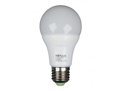 RLL14 LED A60 E27 8W bílá teplá RETLUX