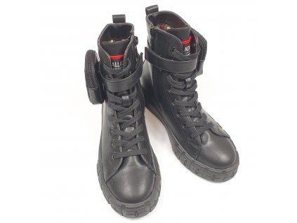Dámské šňerovací kotníkové boty 6828-5