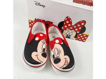 Dětské slip-on tenisky Minnie Mouse