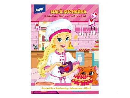 Omalovánky MFP A4 Malá kuchařka