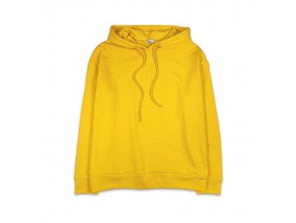 Unisex mikina - tmavě žlutá