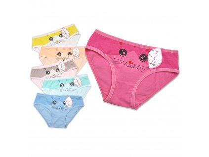 Dívčí kalhotky PESAIL - kočička