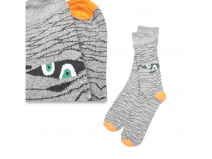 Veselé ponožky VIRGINA mumie